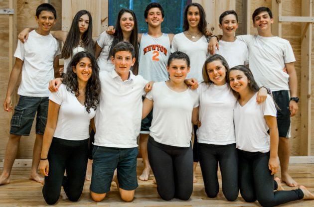 10-11th graders at dance