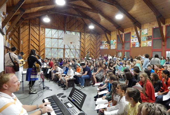 chapel ceremony indoors