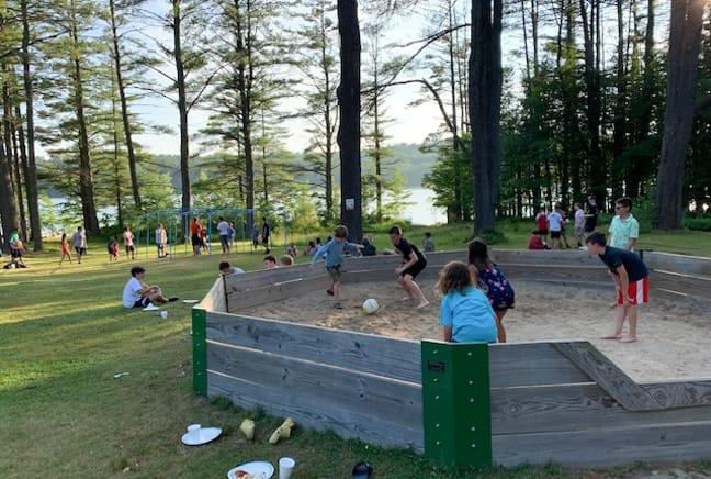 campers at gaga